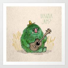 Monster Jam Art Print