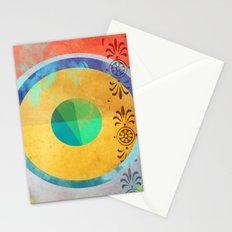 Half Quater Hue Stationery Cards