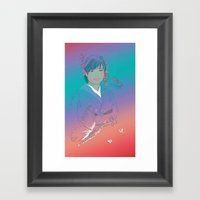 Yuka Framed Art Print