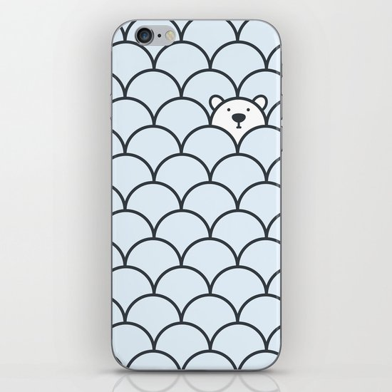 The Last Polar Bear iPhone & iPod Skin