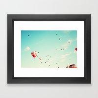 Desert Drifter Framed Art Print