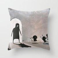 Sadclops Throw Pillow