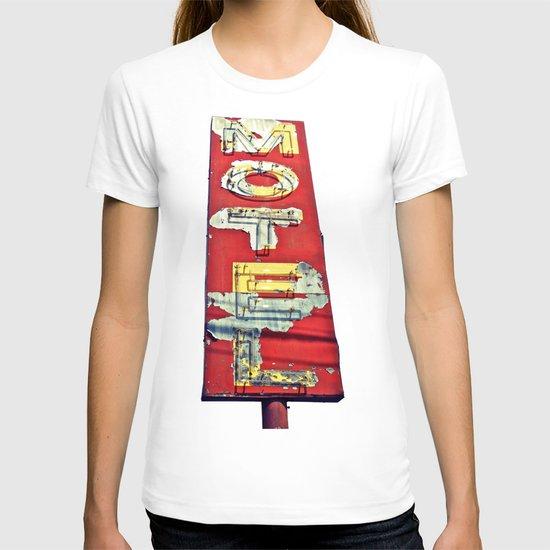 South Tacoma motel sign T-shirt