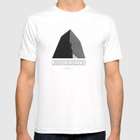 Urbane  Mens Fitted Tee White SMALL