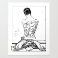 Art Print featuring Apollonia Saintclair 597… by From Apollonia With …