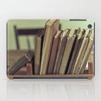 Retro Books iPad Case