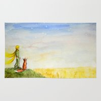 Little Prince, Fox And W… Rug
