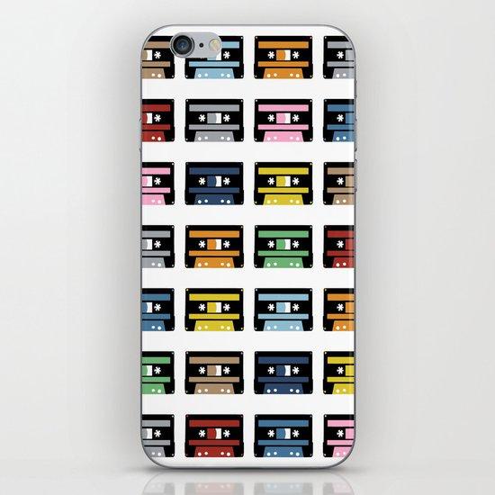 Rainbow Black Tapes iPhone & iPod Skin