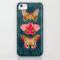 iPhone 5c Cases featuring Lepidoptery No. 4 by Andrea Lauren by Andrea Lauren Design