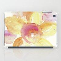 Sunflower Watercolor iPad Case
