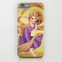 iPhone & iPod Case featuring Rapunzel by Valentina M.