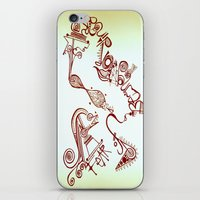 Fear Of Being Ordinary iPhone & iPod Skin