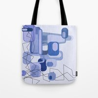 Feeling Blue. Tote Bag
