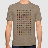 Minimalism Robots (Good … Mens Fitted Tee Tri-Coffee SMALL