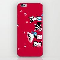 Bostie Holidays iPhone & iPod Skin