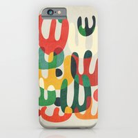iPhone & iPod Case featuring Cactus by Budi Kwan