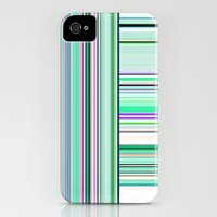 iPhone 4s & iPhone 4 Cases featuring Re-Created Lines & Stripes 6 by Robert S. Lee by Robert S. Lee
