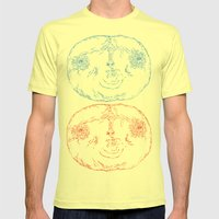 Red Shift Mens Fitted Tee Lemon SMALL
