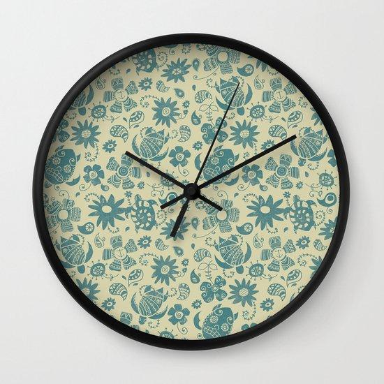 Summer Spirit Wall Clock
