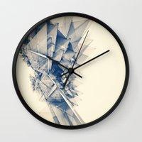 Polygon Tower Wall Clock