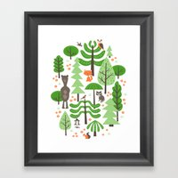 Wildwood Framed Art Print