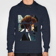 Bob Dylan Font Colour Hoody