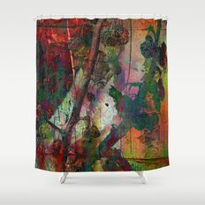 Chinese wall Shower Curtain