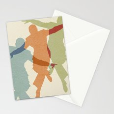 Let's Face the Music Stationery Cards
