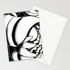 Feminine Figure Stationery Cards