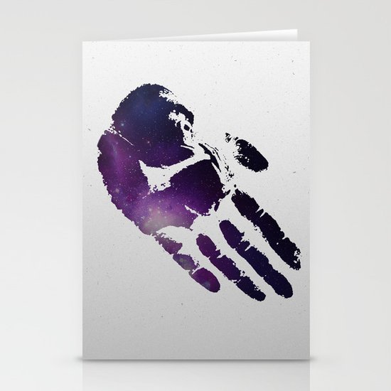 Ape Hand Stationery Card