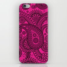 Paisley Pink iPhone & iPod Skin
