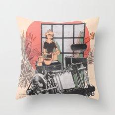Oranjefontein Throw Pillow