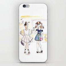 friends + ice cream  iPhone & iPod Skin