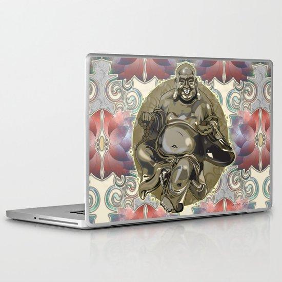 Laughing Buddha Laptop & iPad Skin