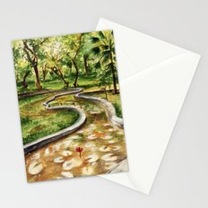 Autumn Pond Stationery Cards