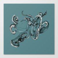 Octopoda Canvas Print