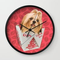 Take Out Wall Clock