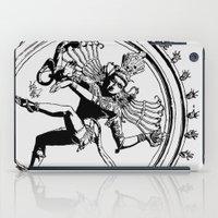 Natraj Dance - Mono iPad Case