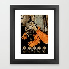 Leroy And The Five Danci… Framed Art Print