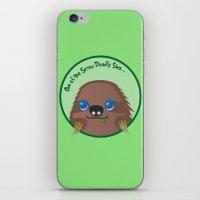 Adorable Sloth iPhone & iPod Skin