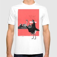 Lone Ranger Mens Fitted Tee White SMALL