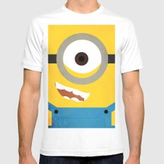 Simple Heroes - Minion Mens Fitted Tee White SMALL