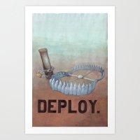 Deploy Art Print