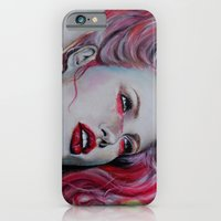 iPhone & iPod Case featuring Pink Jolie by Bella Harris