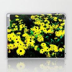 Yellow Flowers (Edited)  Laptop & iPad Skin
