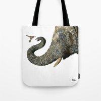 Elephant Cyril And Hummi… Tote Bag