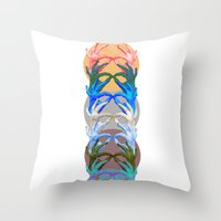 Wild Hands Throw Pillow