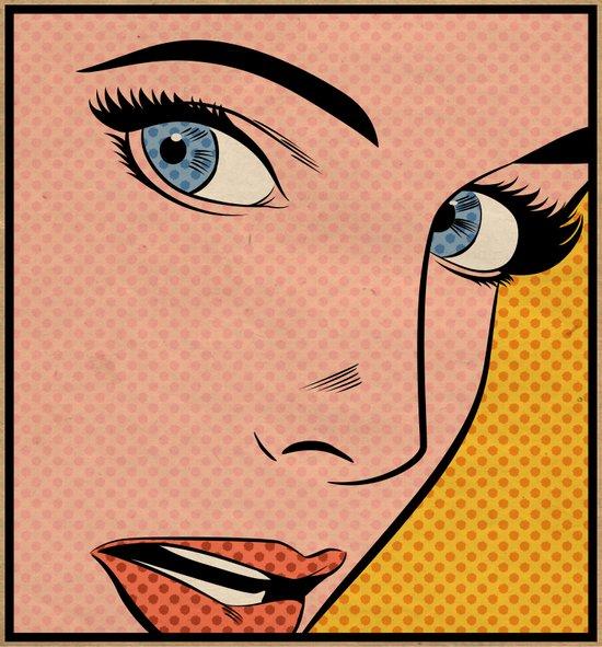 Pop Woman Art Print