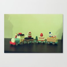 Train to Childhood Canvas Print
