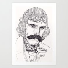 The Butcher Art Print